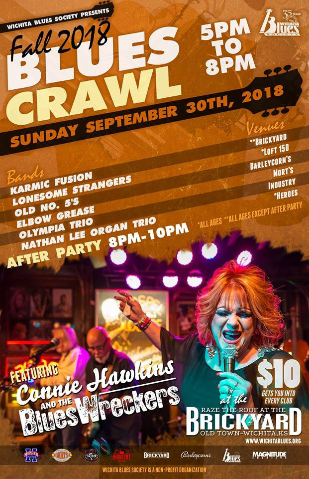 2018 Fall Blues Crawl Revised